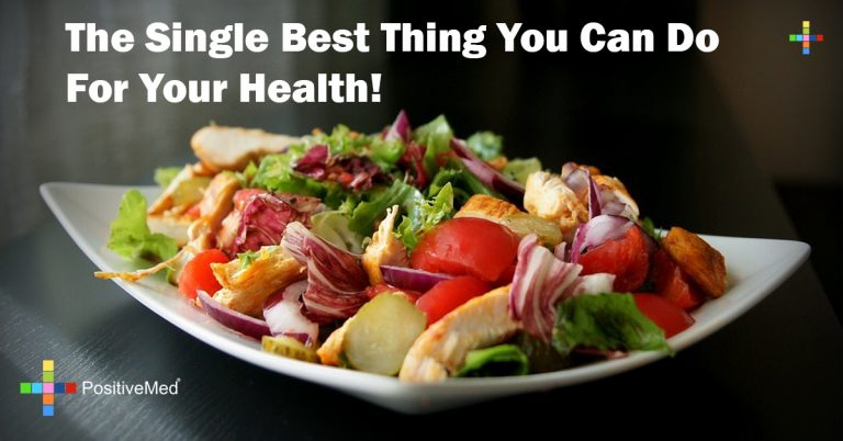 The Single Best Thing You Can Do For Your Health!