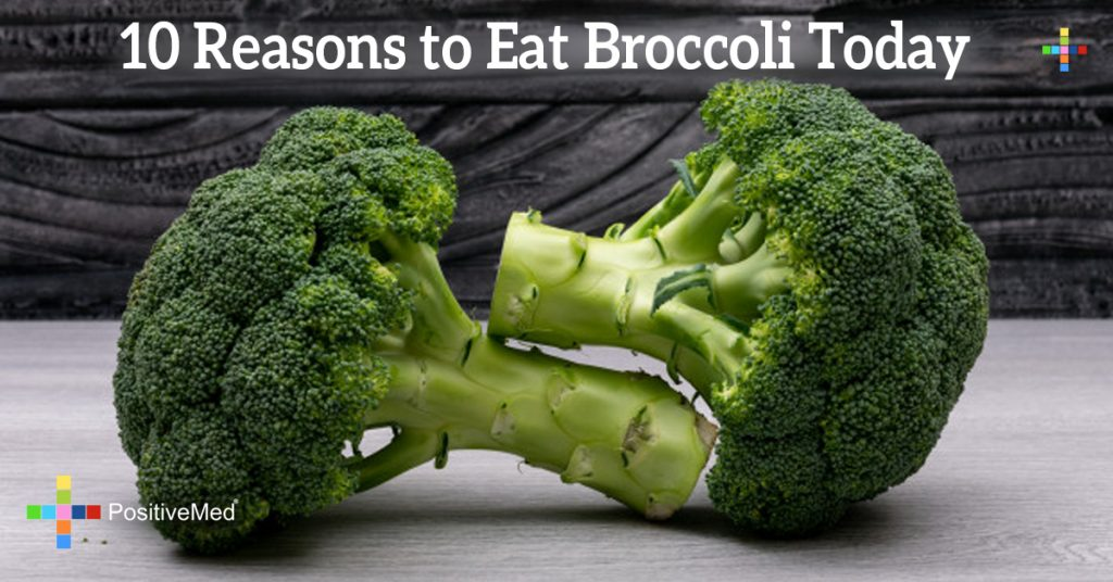 10 Reasons to Eat Broccoli Today