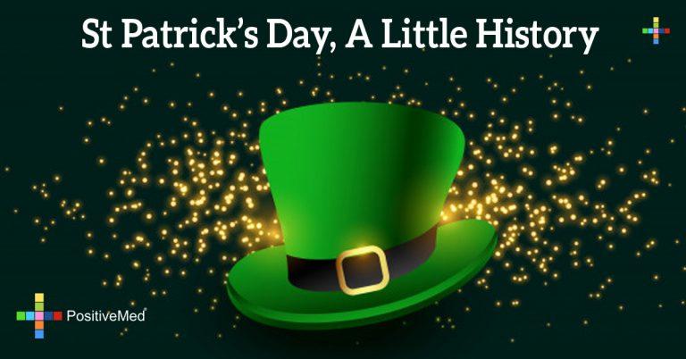 St Patrick's Day, A Little History