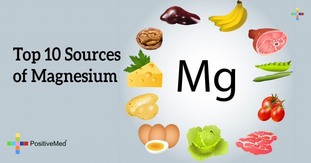 Top 10 Sources of Magnesium