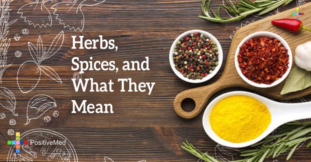 Herbs, Spices, and What They Mean