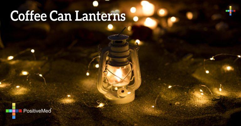 Coffee Can Lanterns