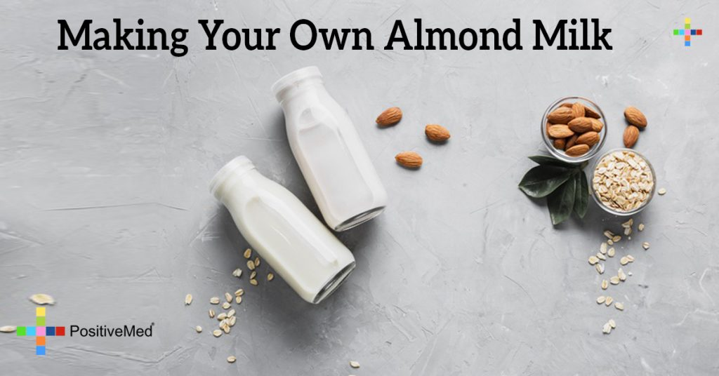 Making Your Own Almond Milk