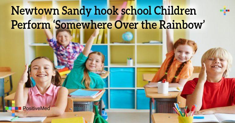 Newtown Sandy hook school Children Perform 'Somewhere Over the Rainbow'