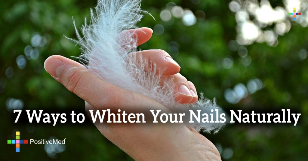 7 Ways to Whiten Your Nails Naturally