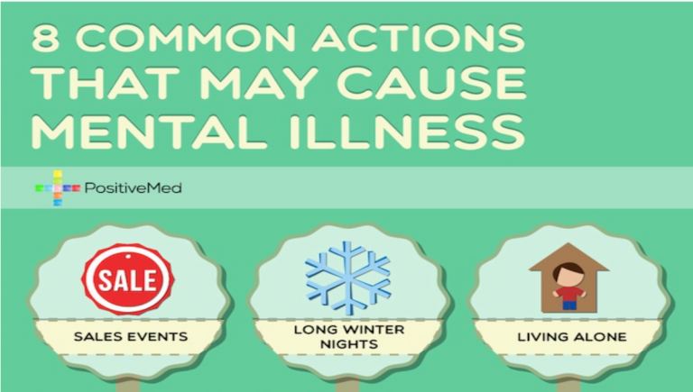 8 Common Actions That May Cause Mental Illness
