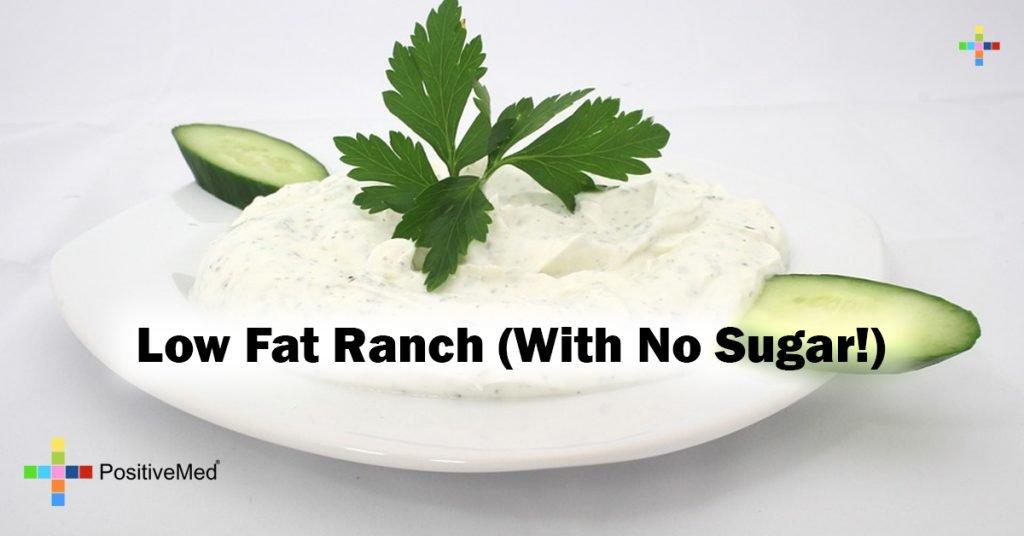 Low Fat Ranch (With No Sugar!)