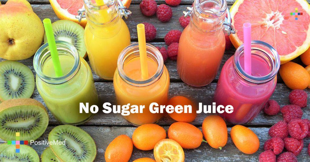 No Sugar Green Juice