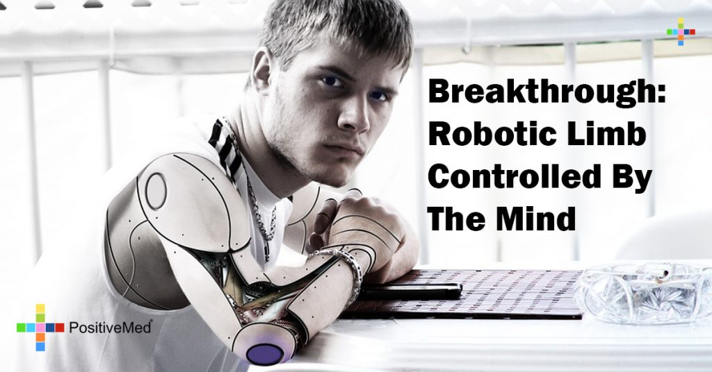 Breakthrough: Robotic Limb Controlled By The Mind