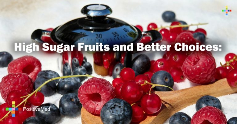 High Sugar Fruits and Better Choices:
