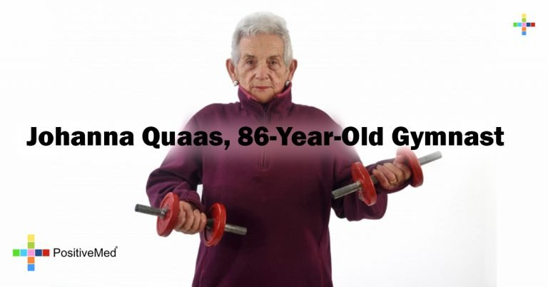 Johanna Quaas, 86-Year-Old Gymnast