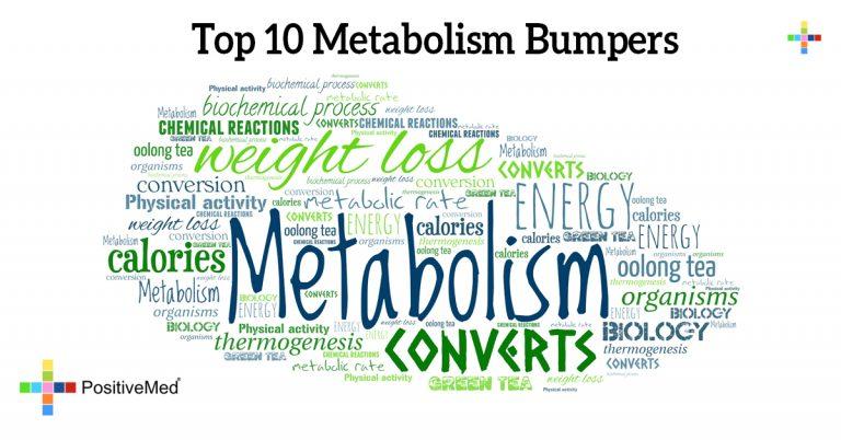 Top 10 Metabolism Bumpers