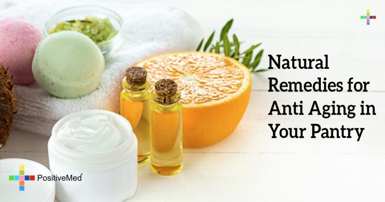 Natural Remedies for Anti Aging in Your Pantry