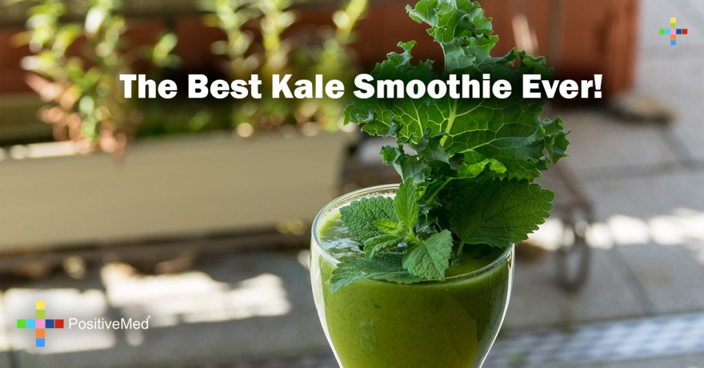The Best Kale Smoothie Ever!