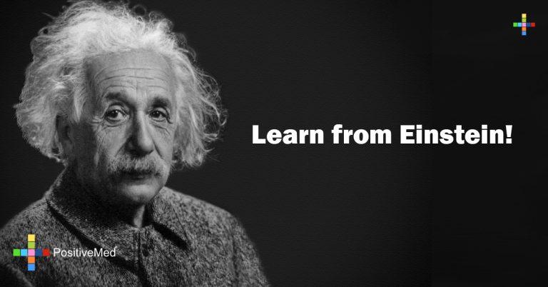 Learn from Einstein!