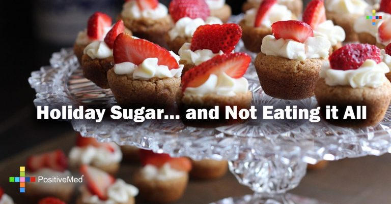 Holiday Sugar… and Not Eating it All