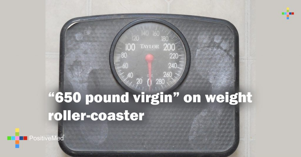 """650 pound virgin"" on weight roller-coaster"