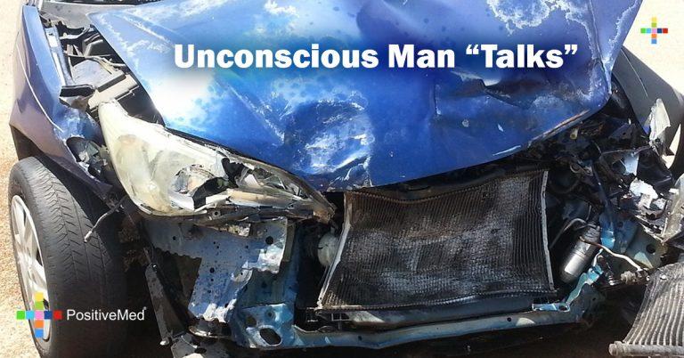 "Unconscious Man ""Talks"""