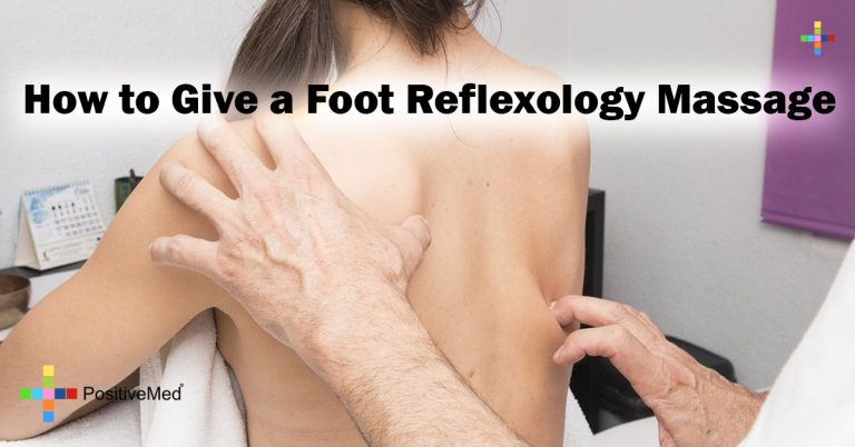 How to Give a Foot Reflexology Massage