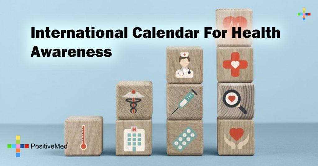 International Calendar For Health Awareness