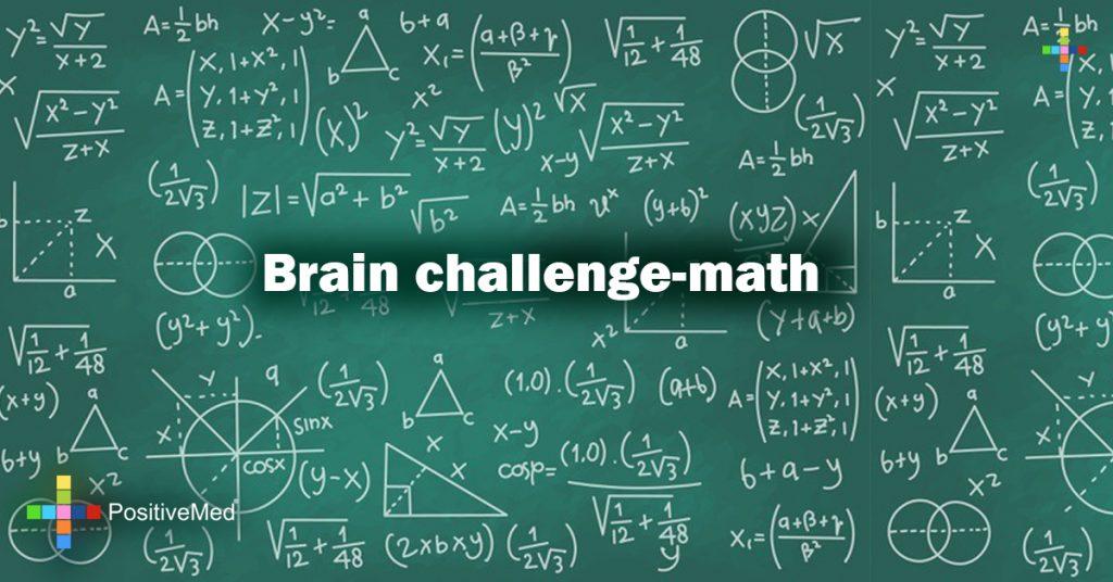 Brain challenge-math