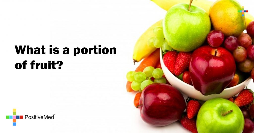 What is a portion of fruit?