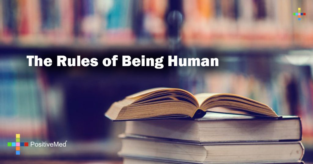 The Rules of Being Human