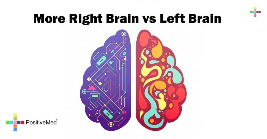 More Right Brain vs Left Brain