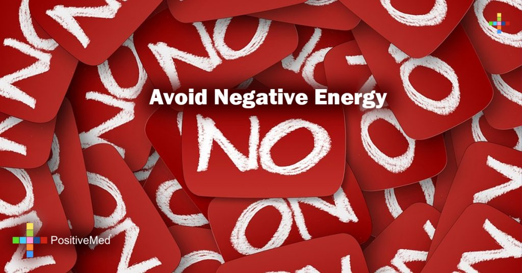 Avoid Negative Energy