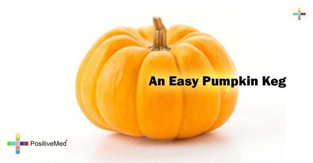 An Easy Pumpkin Keg