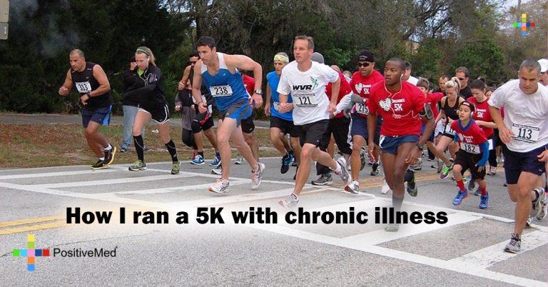 How I ran a 5K with chronic illness