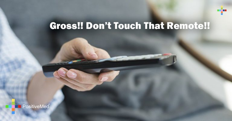 Gross!! Don't Touch That Remote!!