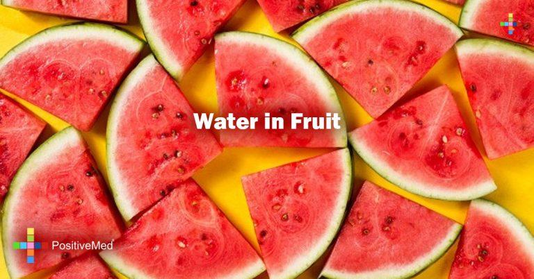 Water in Fruit
