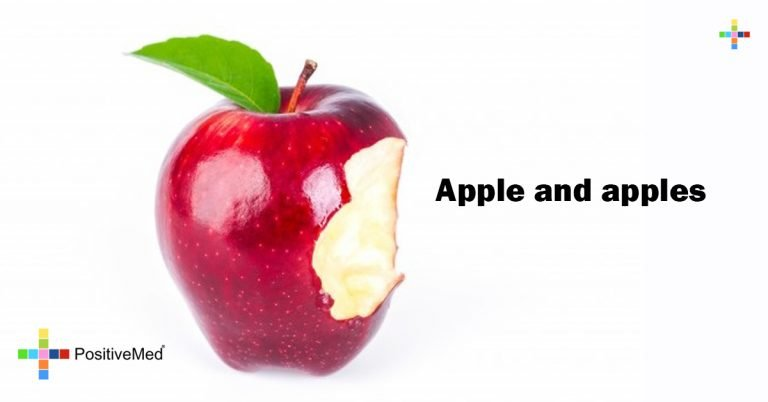 Apple and apples