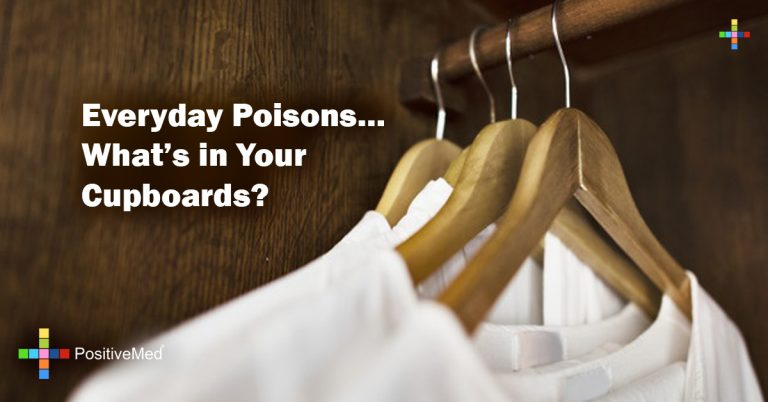 Everyday Poisons… What's in Your Cupboards?