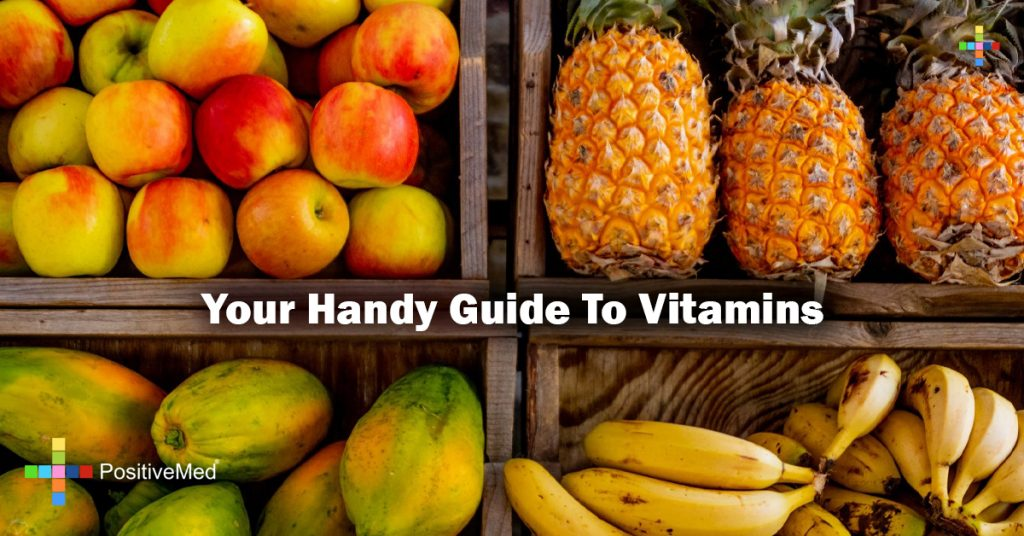 Your Handy Guide To Vitamins