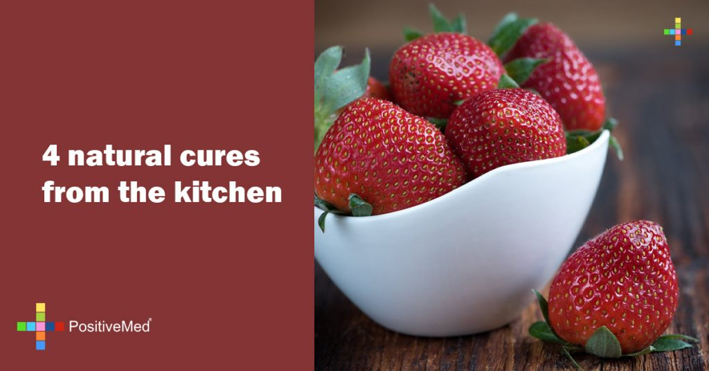 4 natural cures from the kitchen