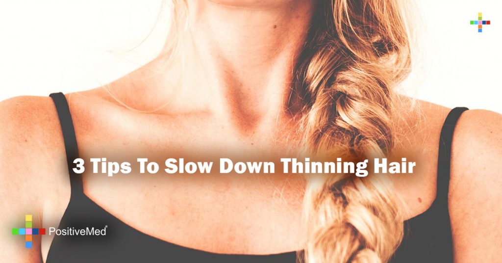 3 Tips To Slow Down Thinning Hair