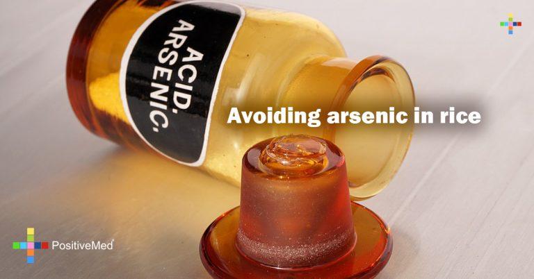 Avoiding arsenic in rice