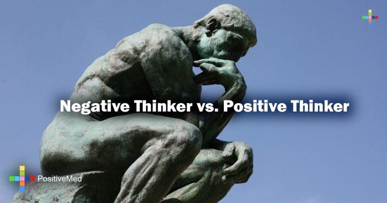 Negative Thinker vs. Positive Thinker