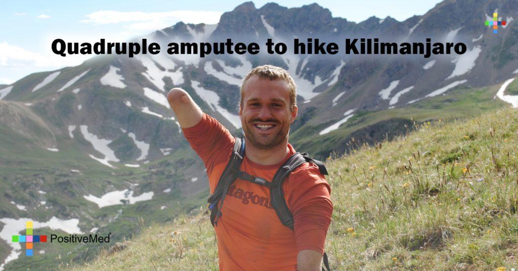 Quadruple amputee to hike Kilimanjaro