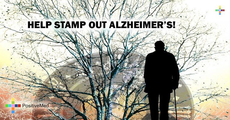 HELP STAMP OUT ALZHEIMER'S!