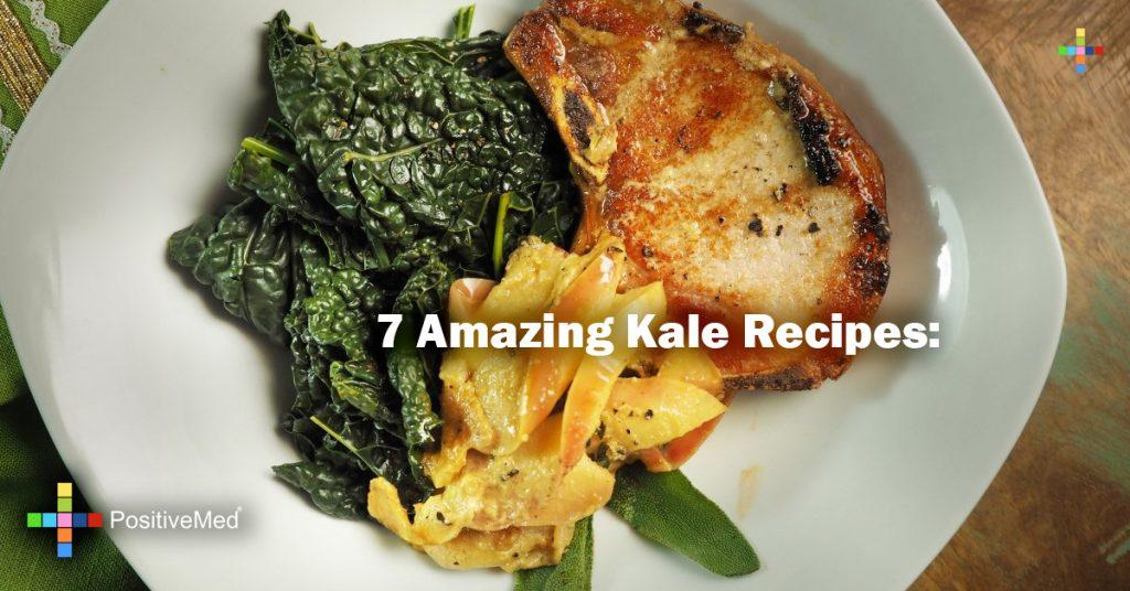 7 Amazing Kale Recipes: