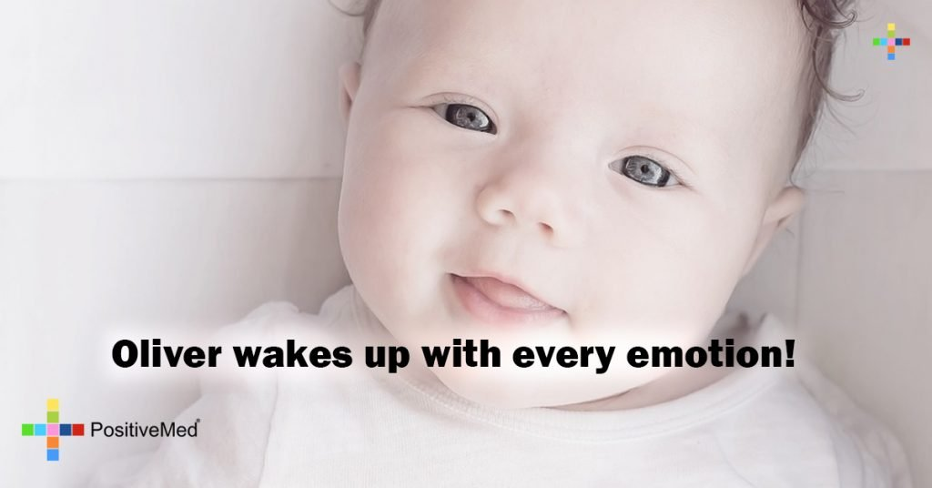Oliver wakes up with every emotion!