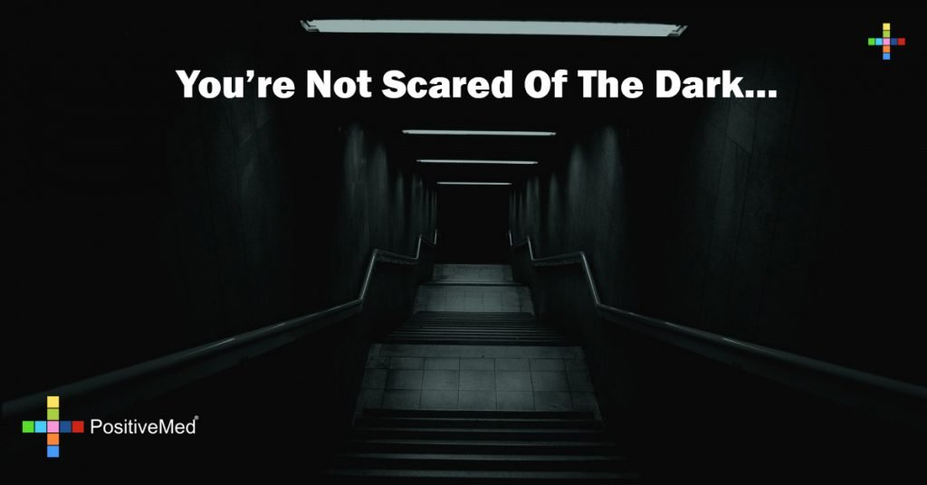 you're not scared of the dark...