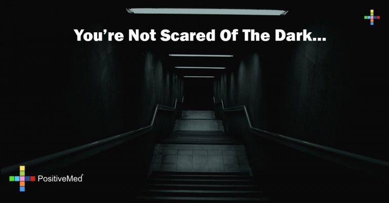 you're not scared of the dark…