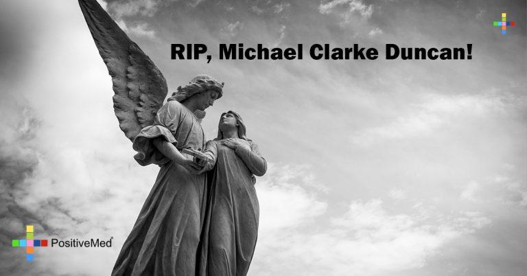 RIP, Michael Clarke Duncan!