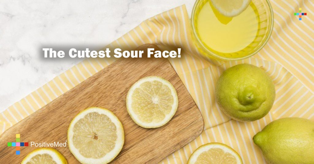 The Cutest Sour Face!