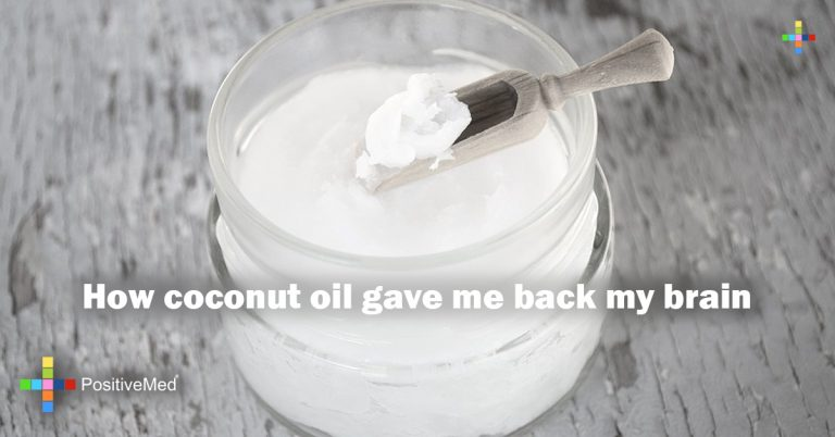 How coconut oil gave me back my brain