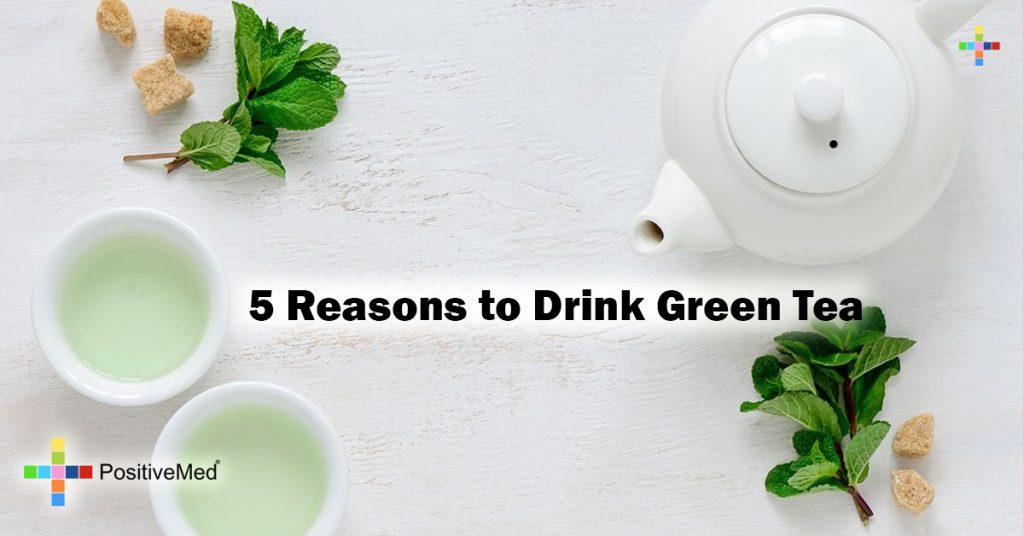 5 Reasons to Drink Green Tea